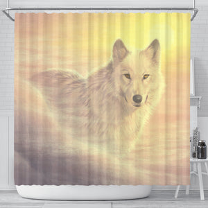 Shower Curtain Wolf
