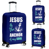 NP Jesus Is The Anchor Luggage Cover