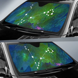 Zodiac Pisces Car Sun Shades Unique Gifts Ideas For Constellation Lovers