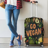 Go Vegan Luggage Cover