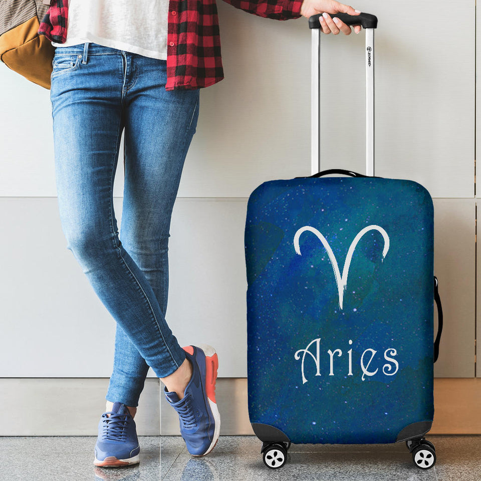 2 Zodiac Aries Horoscope Luggage Covers Algarve Online Shop