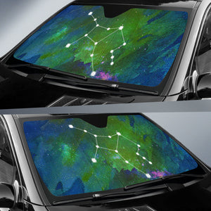 Zodiac Horoscope Virgo Car Sun Shade Unique Gifts For Constellation Lovers Algarve Online shop
