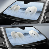 polar bear print car sun shade algarve online shop