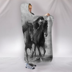 Hooded Blanket Horse