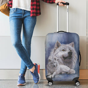 Luggage Cover - Wolf - Noble Intensity