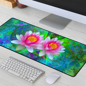 Lotus large mouse pad