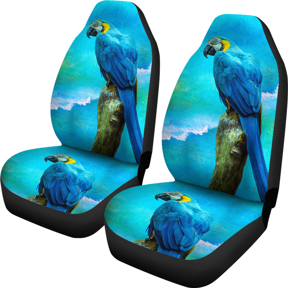 Car Seat Covers - Blue Parrot