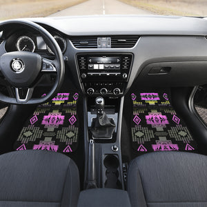 Pink Frost Front And Back Car Mats (Set Of 4)