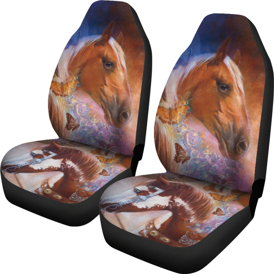 Car Seat Cover Horses Denton Lund