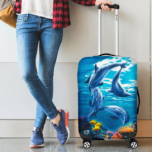ocean life luggage cover algarve online shop