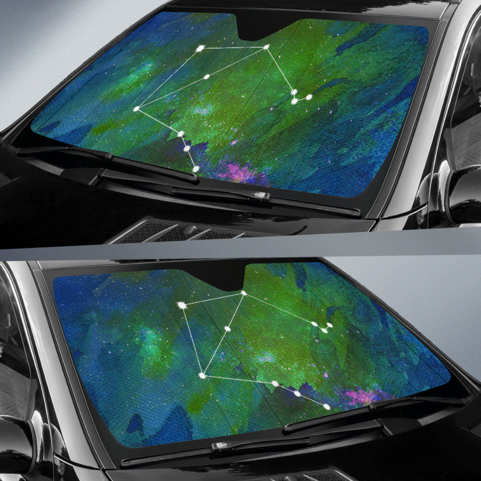 Horoscope Libra Car Sun Shade