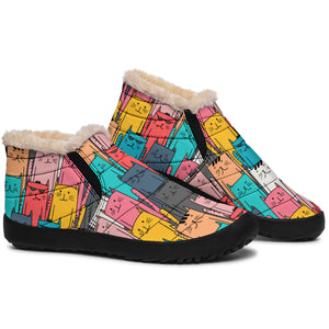 Cool Kitty Cats P1 - Winter Ankle Boots