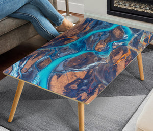 HandCrafted Icelandic River Coffee Table