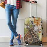 Giraffe Luggage Cover