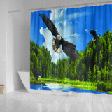Free fly Shower Curtain