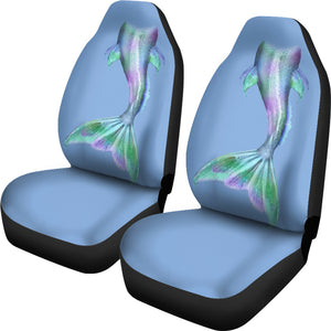 mermaid tail car seat covers