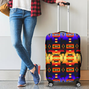 Deer Horizon Luggage Cover