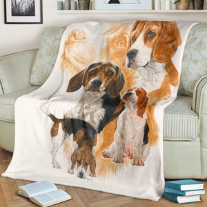 dog print throw blanket buy online