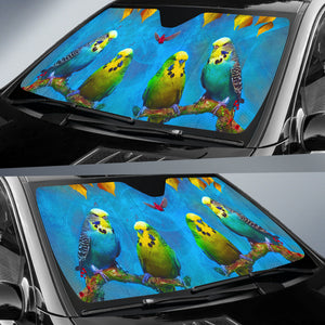 Car Sun Shades Budgie