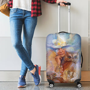 Owl Luggage Cover