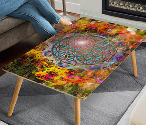 HandCrafted Circle of Life Coffee Table