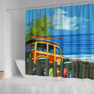 Vacation Shower Curtain
