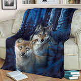 wolf fleece blanket algarve online shop
