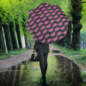 Hypnotic Pink Wave- Umbrella