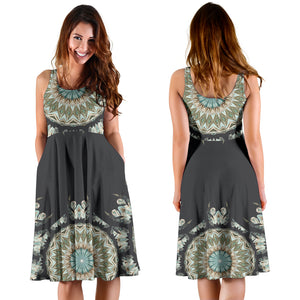 mandala womans dress