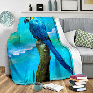 parrot fleece blanket algarve online shop