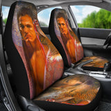 Car seat covers native american vision seeker