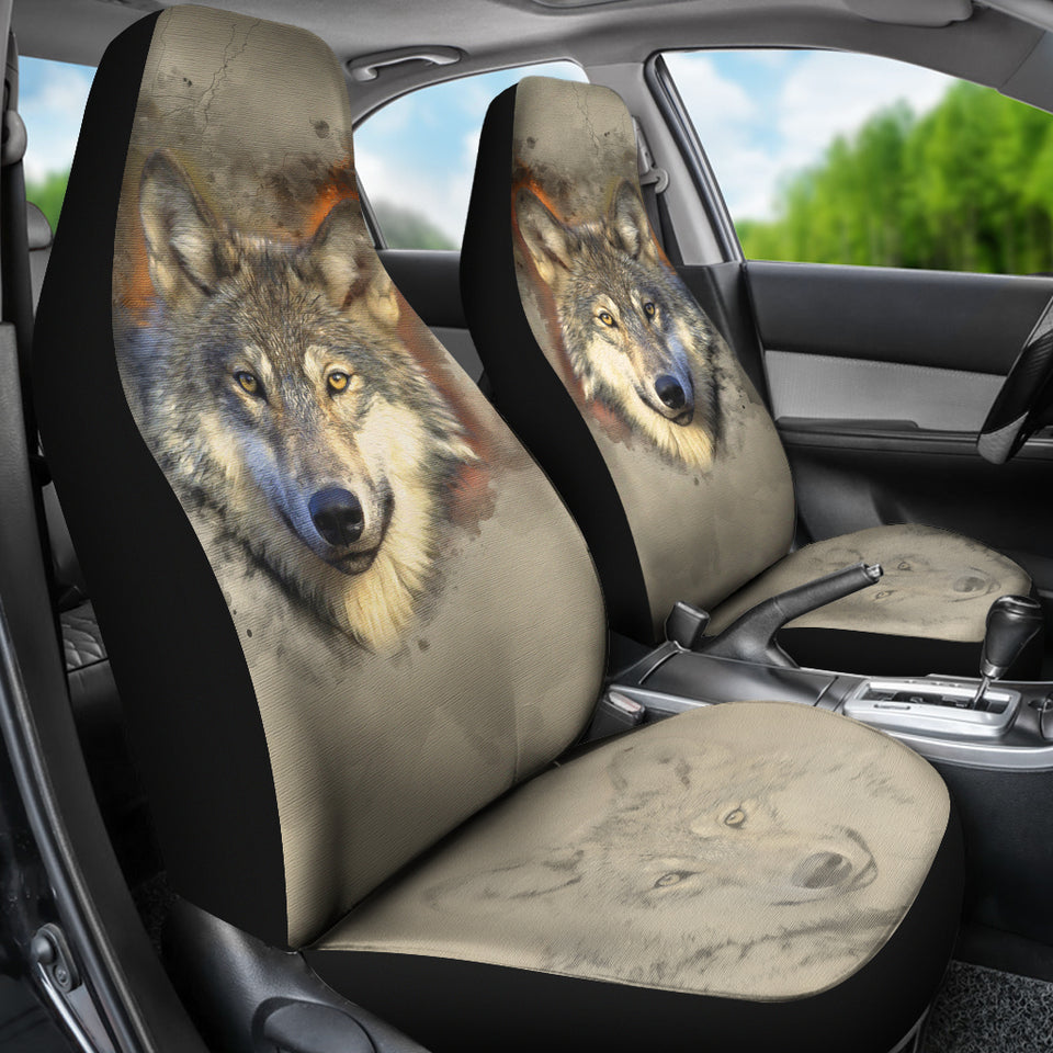 Car Seat Covers - I am a Wolf