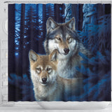 Shower Curtain Mystic Canyon