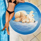 beach blanket polar bear algarve online shop