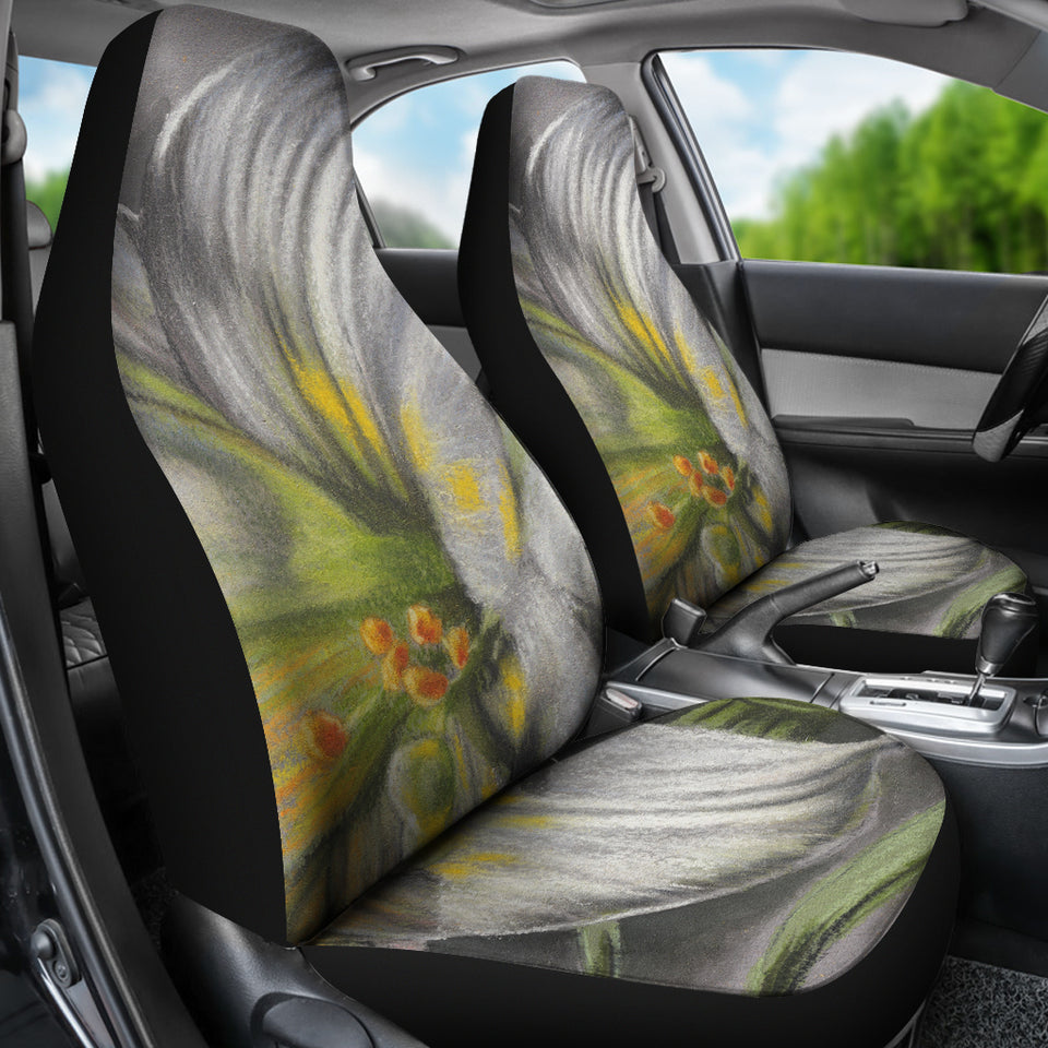Car seat covers abstract art universe