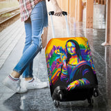 Luggage Cover - Mona Lisa
