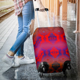 Purple Thunderstorm Luggage Cover