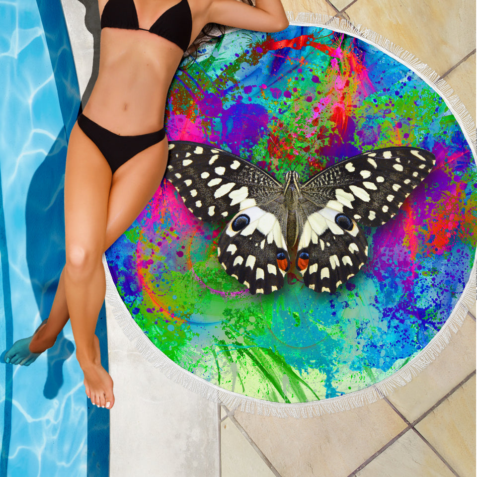Beach Blanket - Swallowtail