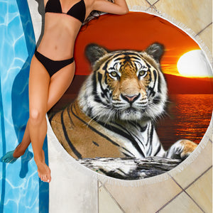 beach blanket tiger