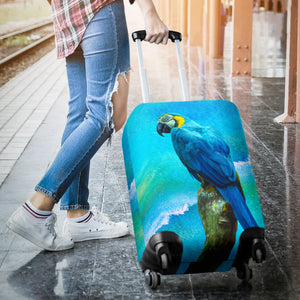 luggage cover blueparrot