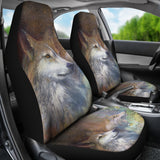 Car Seat Covers -Wolves Fragile