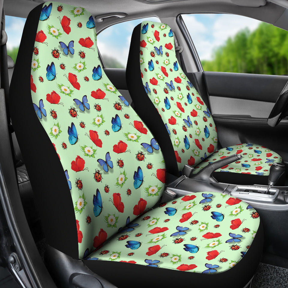 Butterfly Garden Car Seat Covers