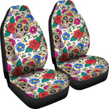 Sugar Skull Car Seat Covers