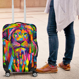 Lion Luggage Cover