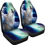 Car Seat Covers - Wolf Holy Night