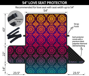 Sofa Protector Pretty Twilight Shadow