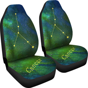 Constellation Cancer unique gift car seat covers