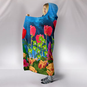 floral hooded blanket algarve online shop