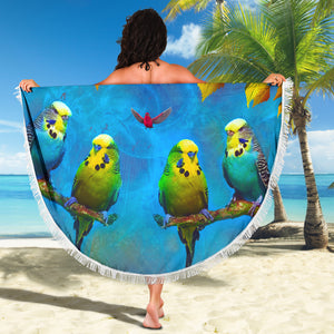 Beach Blankets - Budgies