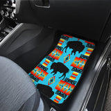 Buffalo Sky Front And Back Car Mats (Set Of 4)